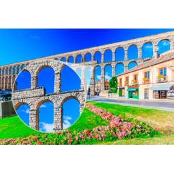 Foto mural aqueduto de Segóvia