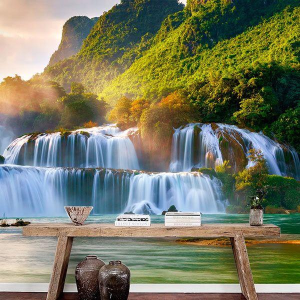 Foto mural cascata Ban Gioc