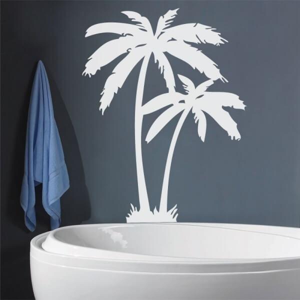 Autocolante decorativo palmeira 2