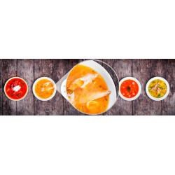 Foto mural prato de sopa