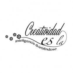 Vinil decorativo Criatividade