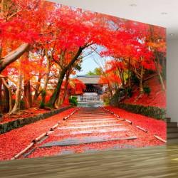Mural de parede Momiji