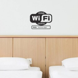 Vinil wifi com pass