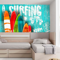 Foto mural  Surfing