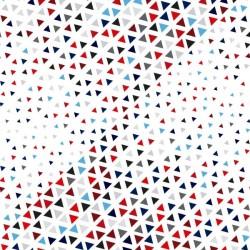 Vinil móveis triângulos coloridos 2