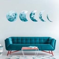 Vinil fases da lua
