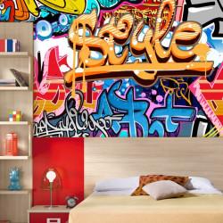 Foto mural grafiti style