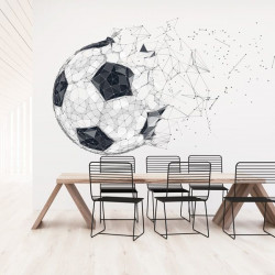 Foto mural bola de futebol