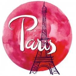 Vinil lua vermelha Paris