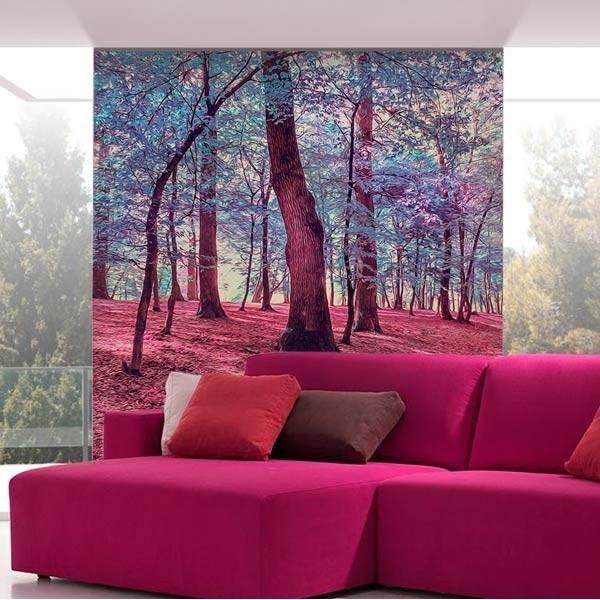 Foto mural paisagem de outono