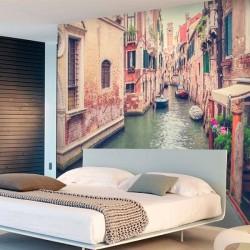 Foto mural canais de Veneza 3