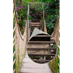 Foto mural ponte de cordas
