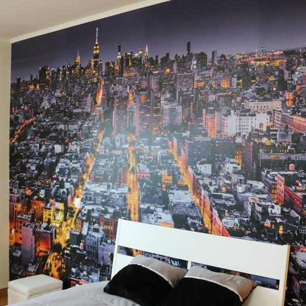 Mural panorâmica New York