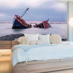 Papel de parede barco...