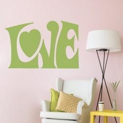 Autocolante de letras love 1