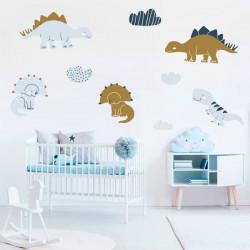 Autocolante dinossauros bebés