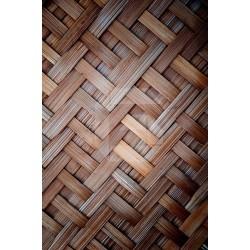 Decorativo madeira entelaçada