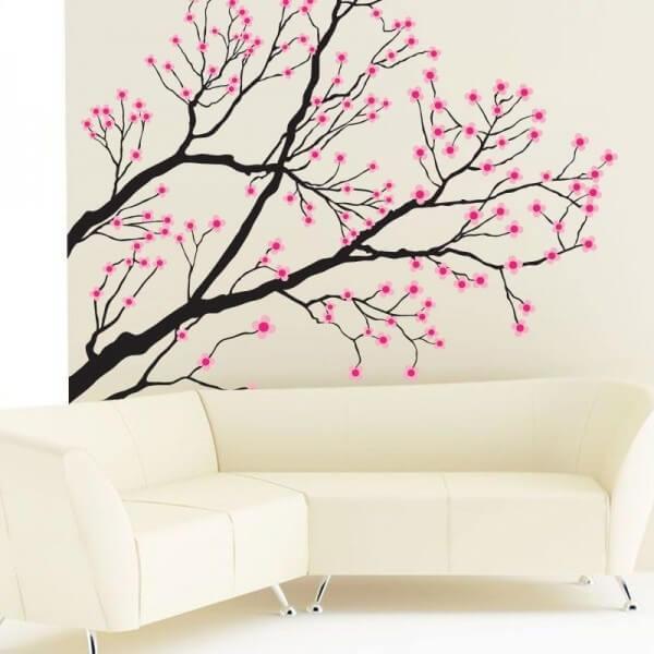 Vinil decorativo árvore 4