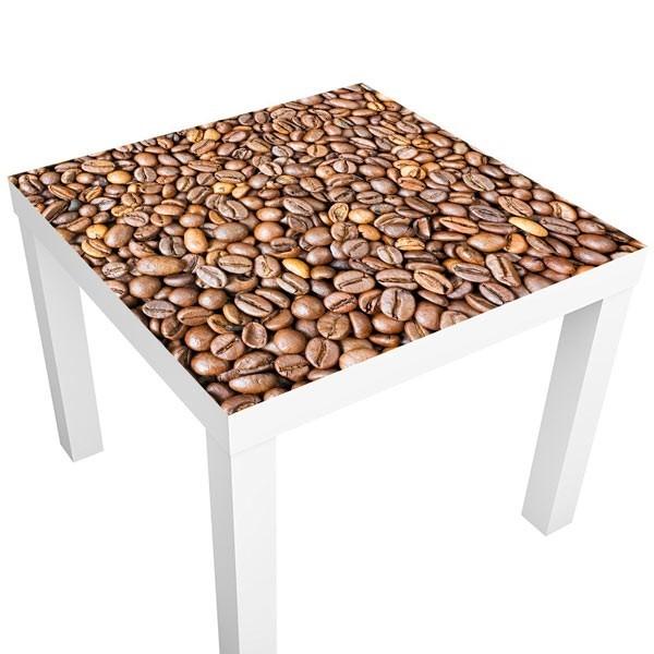 Vinil para mesas grãos de café