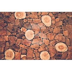 Autocolante troncos de madeira