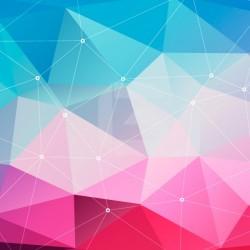 Adesivo formas geométricas 3D