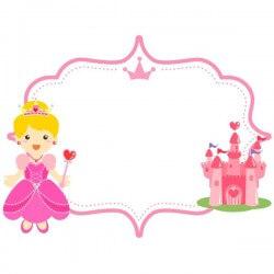 Lousa infantil princesa