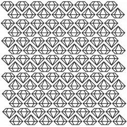 Stickers de diamantes