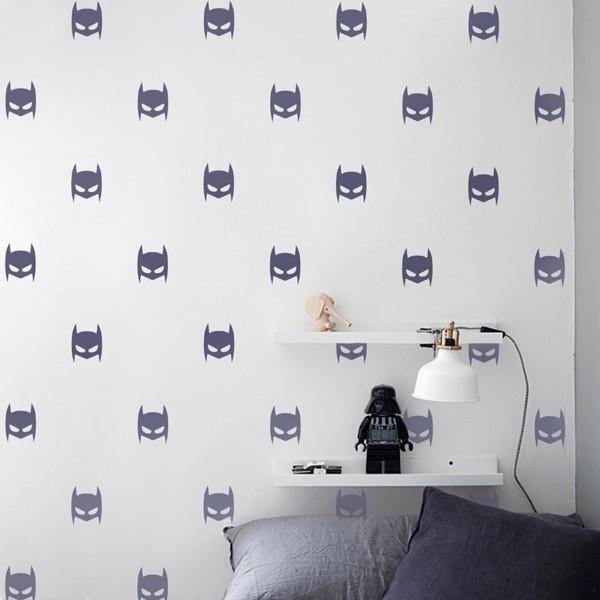 Sticker decorativo máscara do Batman