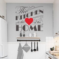 Vinil de frases the kitchen