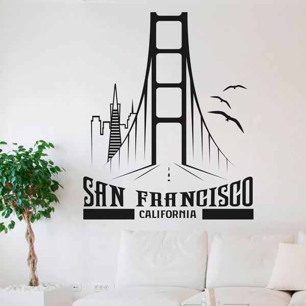 Autocolante de cidades San Francisco