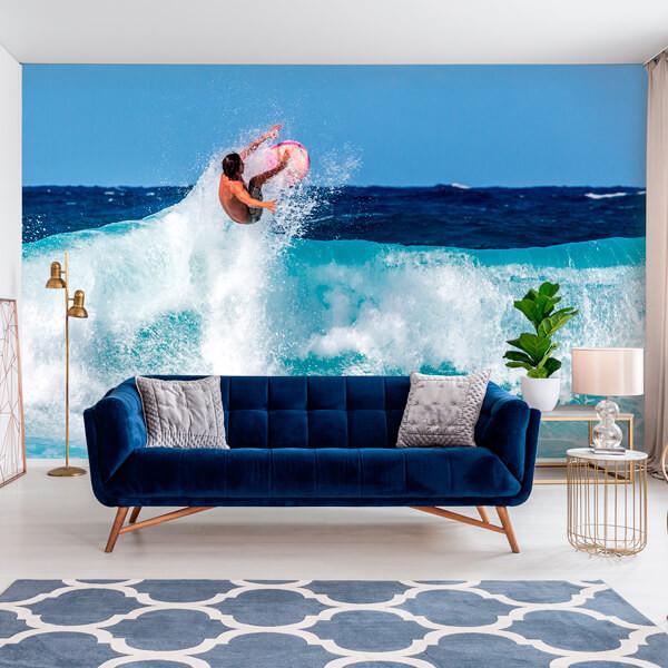 Mural de parede surf