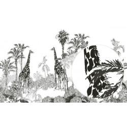 Mural de parede girafas na selva