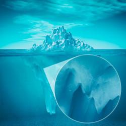 Foto mural iceberg