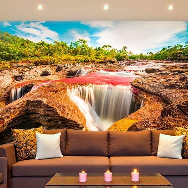 Foto mural rio Caño Cristales