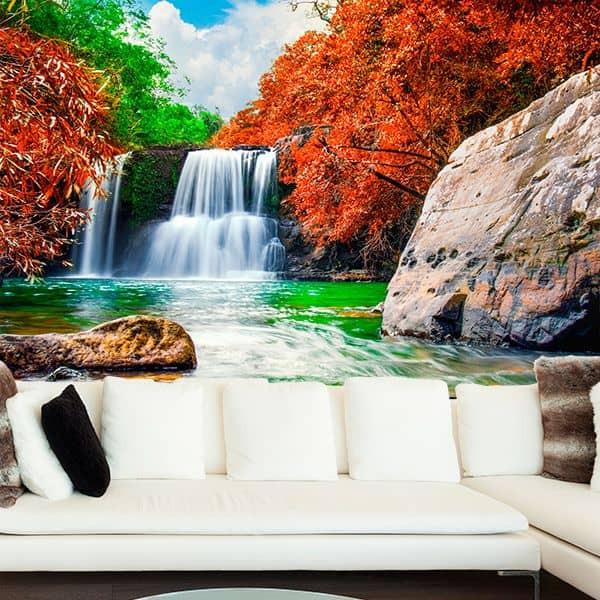 Foto mural cascata