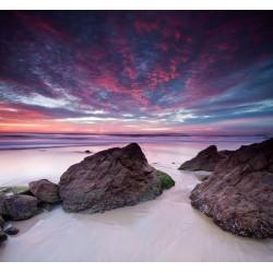 Papel pintado paisagem mar