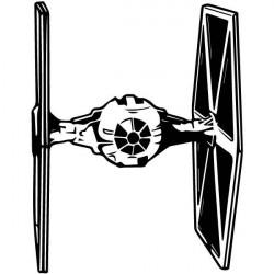Adesivo Star Wars nave tie bomber