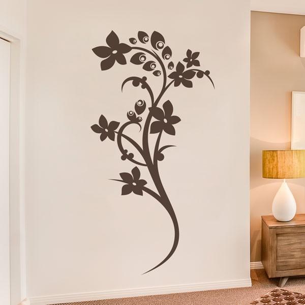 Vinil decorativo flor de amendoeira