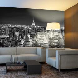 Mural Manhattan de noite