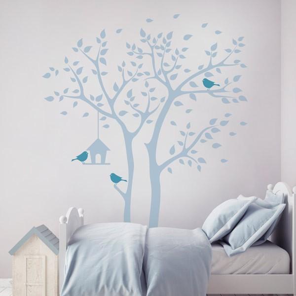 Vinil decorativo casa do passarinho
