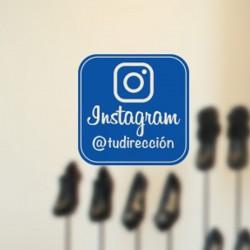 Vinil para montra instagram