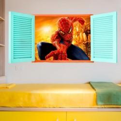 Janela do homem aranha