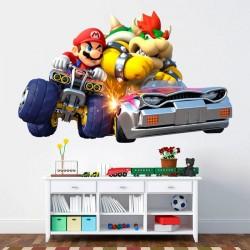 Vinil de parede Mario kart