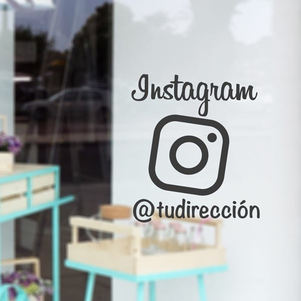 Vinil decorativo Instagram