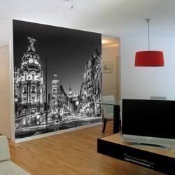 Foto mural Gran Via  Madrid