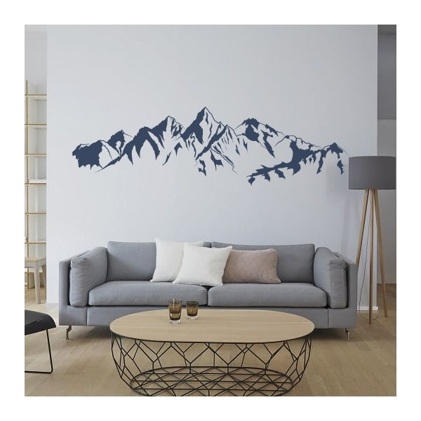 Adesivo desenho de uma montanha