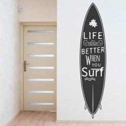 Vinil decorativo surf