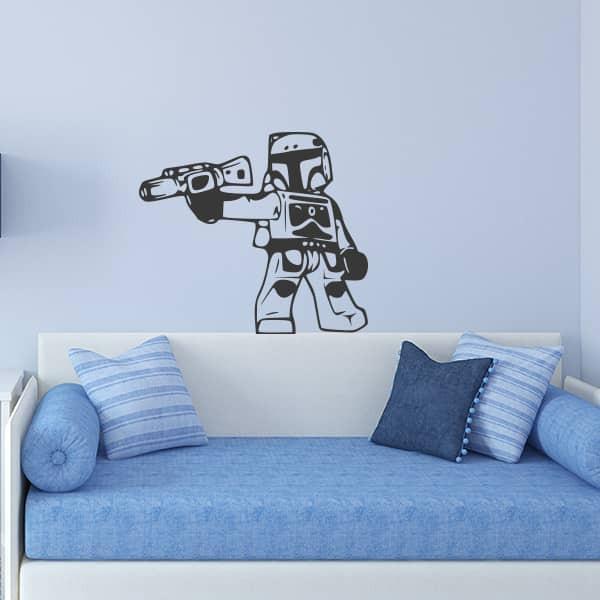 Autocolante lego stormtrooper