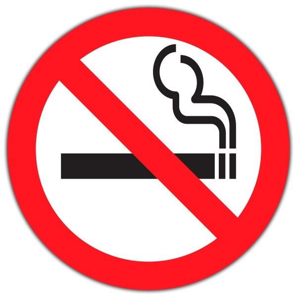 Autocolante para empresas proibido fumar