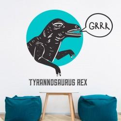 Vinil decorativo tyrannosaurus rex